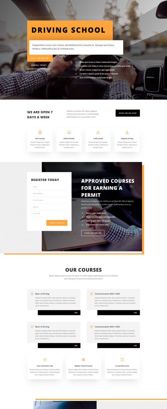 driving-school-landing-page-533x2230