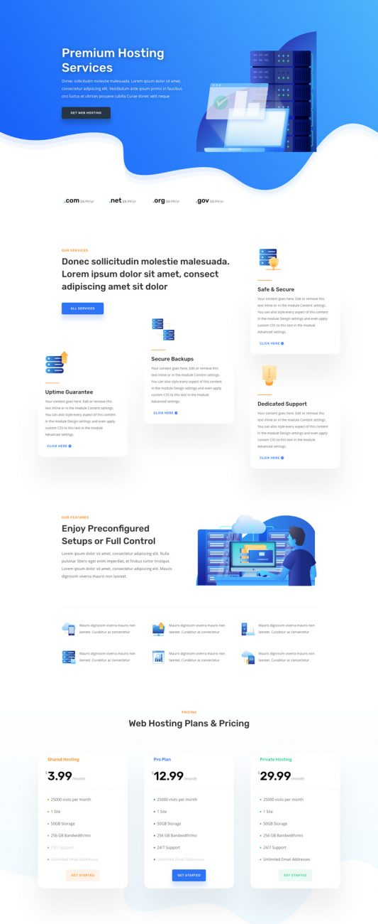 hosting-company-landing-page-533x2738