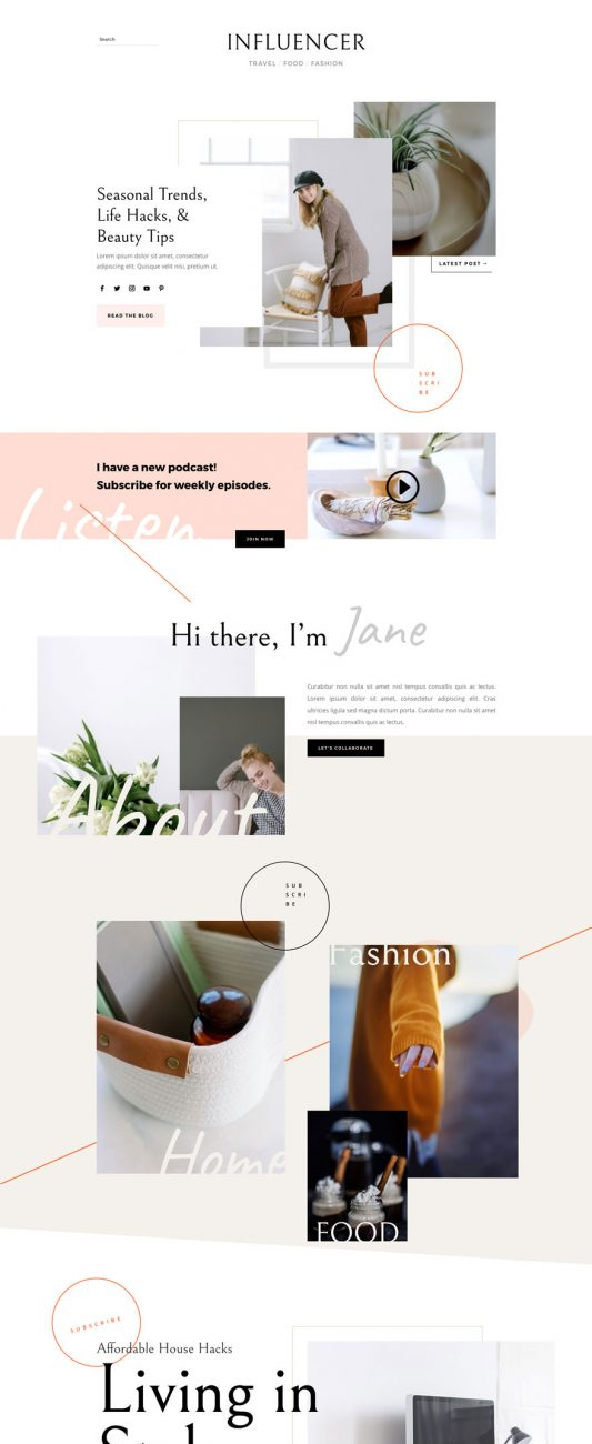 influencer-landing-page-533x1879