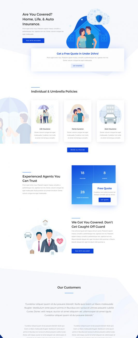 insurance-agency-landing-page-533x1741