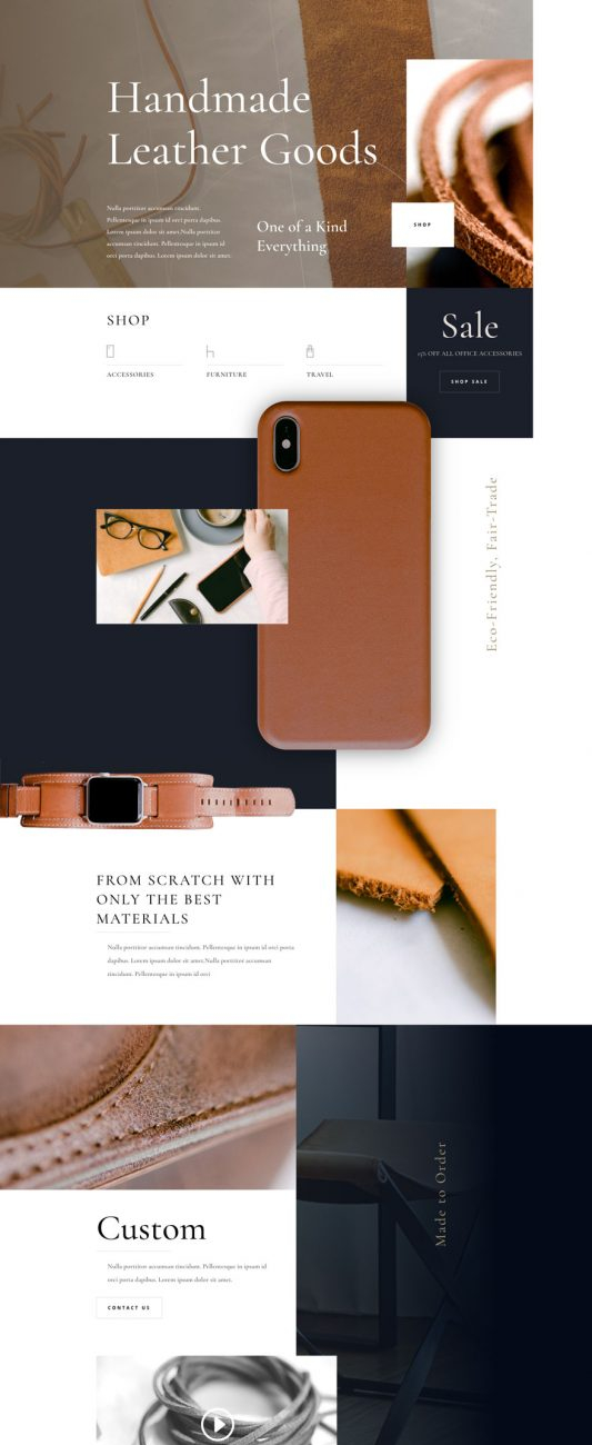 leather-company-landing-page-533x1713